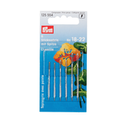Prym 125552 sewing needle 6 pc(s) Hand-sewing Stainless steel Chenille needle