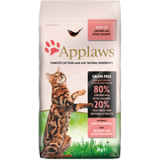 Applaws 5060122491433 cats dry food 2 kg Adult Chicken, Salmon