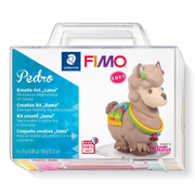 Staedtler FIMO Pedro Modeling clay 100 g Beige, Blue, Purple, Yellow 4 pc(s)