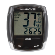 M-Wave M14W Wireless bicycle computer Black