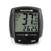M-Wave M12 Wired bicycle computer Black
