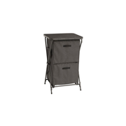 Outwell Domingo camping cupboard Charcoal 3 shelves Foldable