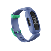 Fitbit Ace 3 PMOLED Wristband activity tracker Blue, Green