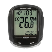 M-Wave M23CW Wireless bicycle computer Black