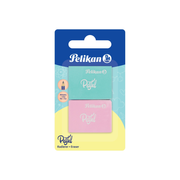Pelikan 818100 eraser Rubber Aqua colour, Pink 2 pc(s)