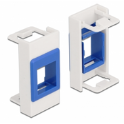DeLOCK 81357 wall plate/switch cover Blue, White