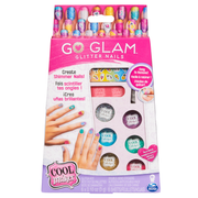 Cool Maker , GO GLAM Glitter Nails DIY Activity Kit for 5 Manicures, for Kids Aged 8 and up