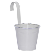 dameco 20431 planter Pot planter Hanging Metal White