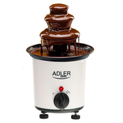 Adler AD 4487 chocolate fountain Black, Brown, White 30 W