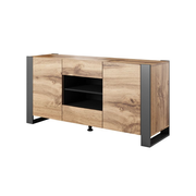 Cama chest of drawers WOOD wotan oak/antracite