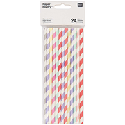 Rico Design 08792.88.02 disposable drinking straws 24 pc(s) Assorted colours
