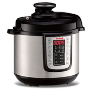 Tefal FAST & DELICIOUS CY505E10 electric pressure cooker 6 L Black, Stainless steel 1100 W