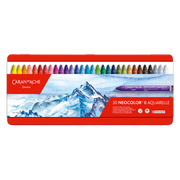 Caran d-Ache 7500.330 pastel Wax pastel Multicolour 30 pc(s)