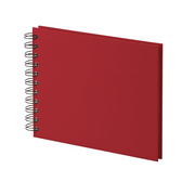 Rössler S.O.H.O. photo album Red 40 sheets Spiral binding