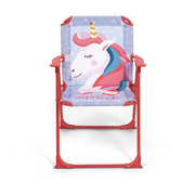 Arditex ZK50686 camping chair 2 leg(s) Lilac, Red