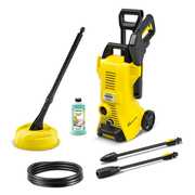 Kärcher K 3 POWER CONTROL HOME pressure washer Upright Electric 380 l/h Black, Yellow