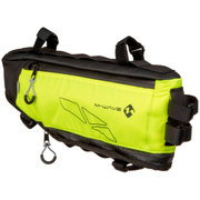 M-Wave Rough Ride Triangle Frame Bicycle bag 4.2 L Black, Yellow