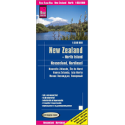 Reise Know-How Landkarte Neuseeland, Nordinsel (1:550.000) - world mapping project
