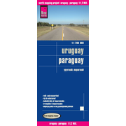 Reise Know-How Landkarte Uruguay, Paraguay (1:1.200.000) - world mapping project