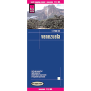 Reise Know-How Landkarte Venezuela (1:1.400.000) - world mapping project