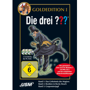 Die drei ??? Goldedition Band 1-3