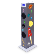 Bigben Interactive Multimedia Tower Stickers (Karaoke), Home audio tower system, Multicolour, 20 W, 2-way, FM, LCD