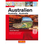 Australien Road Atlas - 4WD Routes with GPS Positions