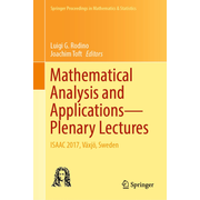 Mathematical Analysis and Applications—Plenary Lectures - ISAAC 2017, Växjö, Sweden