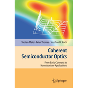 Coherent Semiconductor Optics - From Basic Concepts to Nanostructure Applications