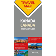 Reisekarte Kanada 1:4 Mio - Travel Map Canada