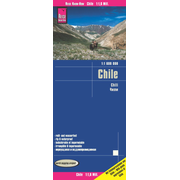 Reise Know-How Landkarte Chile (1:1.600.000) - reiß- und wasserfest (world mapping project)