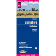 Reise Know-How Landkarte Simbabwe (1:800.000) - world mapping project