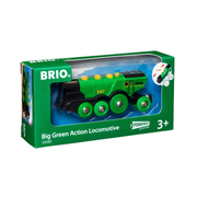 BRIO Big Green Action Locomotive, Black, Green, 3 yr(s), AAA, 137 mm, 36 mm, 50 mm