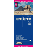 Reise Know-How Landkarte Ägypten (1:1.125.000) - world mapping project