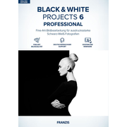 BLACK & WHITE projects #6 professional (Win & Mac)