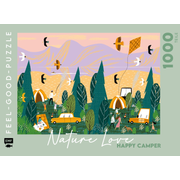 Feel-good-Puzzle 1000 Teile –NATURE LOVE: Happy Camper