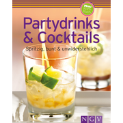 NGV Partydrinks & Cocktails book Food & drink German 240 pages