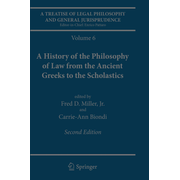A Treatise of Legal Philosophy and General Jurisprudence - Volume 6: A History of the Philosophy of Law from the Ancient Greeks to the Scholastics
