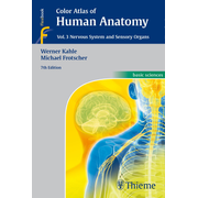 Color Atlas of Human Anatomy, Vol. 3 - Nervous System and Sensory Organs