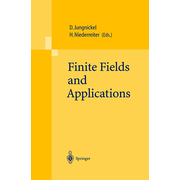 Finite Fields and Applications - Proceedings of The Fifth International Conference on Finite Fields and Applications Fq 5, held at the University of Augsburg, Germany, August 2–6, 1999