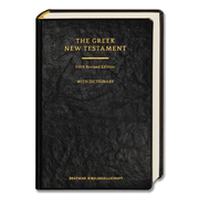 The Greek New Testament - Fifth Revised Edition; With Dictionary