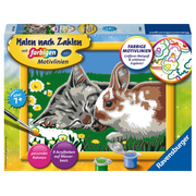 Ravensburger 00.027.840, 1 pages, Paints included, Boy/Girl, Color by numbers kit