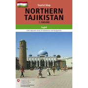 Northern Tajikistan - 1:500'000, Tourist Map of Sughd with adjacent areas of Uzbekistan and Kyrgyzstan