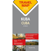 Reisekarte Kuba 1:800.000 - Travel Map Cuba