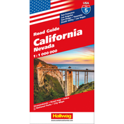 California, Nevada Strassenkarte 1:1 Mio., Road Guide Nr. 5 - San Francisco, Los Angeles, San Diego, yosemite, Death Valley, Las Vegas