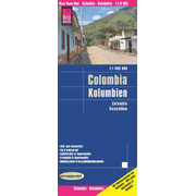 Reise Know-How Landkarte Kolumbien / Colombia (1:1.400.000) - reiß- und wasserfest (world mapping project)