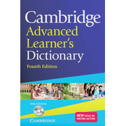Cambridge Advanced Learner's Dictionary Fourth edition - Hardback with CD-ROM