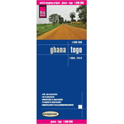 Reise Know-How Landkarte Ghana, Togo (1:600.000) - world mapping project