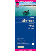Reise Know-How Landkarte Cabo Verde (1:135.000) - world mapping project