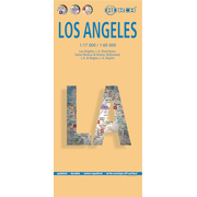 Los Angeles, Borch Map - Los Angeles, L.A. Downtown, Santa Monica & Venice, Hollywood, L.A. & Region, L.A. Airport